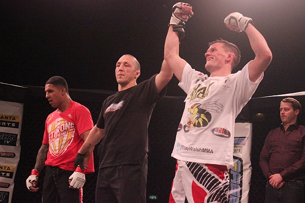 Saul Tha Hangman Rogers MMA Stats, Pictures, News