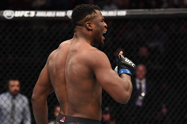 Francis The Predator Ngannou Mma Stats Pictures News