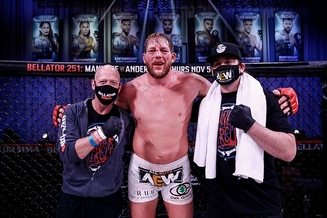 Jack Swagger,' Bec Rawlings Get Bouts at Bellator 231 in Connecticut